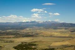 Montaña del plainand de Colorado Imágenes de archivo libres de regalías