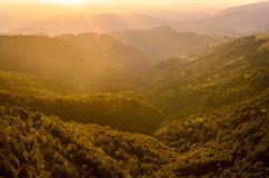 Montaña del planina de Stara en Serbia Imagen de archivo