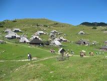 Montaña del planina de Velika Imagen de archivo libre de regalías