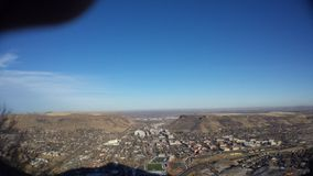 Montaña del puesto de observación Fotos de archivo