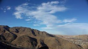 Montaña del puesto de observación Imagen de archivo