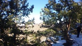 Montaña del puesto de observación Fotografía de archivo