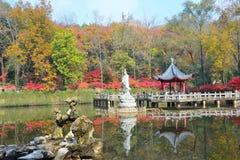 montaña del qixia en Nanjing Fotos de archivo libres de regalías