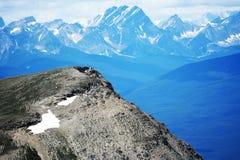 Montaña del sulfuro Foto de archivo libre de regalías