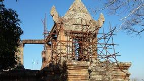 Montaña 1 del templo de Preah Vihear foto de archivo