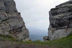 Montaña Demerdzhi Imagenes de archivo