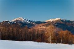 Montaña destartalada Foto de archivo libre de regalías