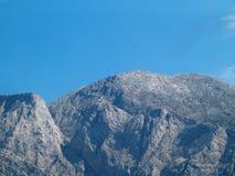 Montaña distante Foto de archivo libre de regalías