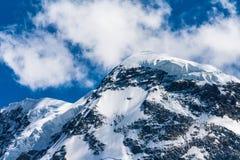 Montaña Dolent Switserland Fotografía de archivo libre de regalías