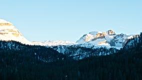 Montaña - dolomía - Madonna di Camiglio Foto de archivo libre de regalías