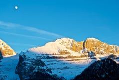 Montaña - dolomía - Madonna di Camiglio Fotos de archivo