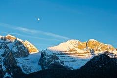 Montaña - dolomía - Madonna di Camiglio Imagen de archivo libre de regalías
