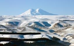 Montaña Elbrus foto de archivo libre de regalías