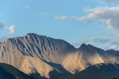 Montaña en Canadá Fotos de archivo