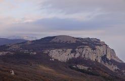 Montaña en Crimea Imagenes de archivo