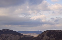Montaña en Crimea Fotografía de archivo