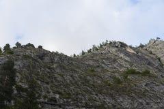 Montaña en el cielo claro v2 Imagen de archivo libre de regalías