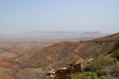 Montaña en el Fuerteventura Imagen de archivo