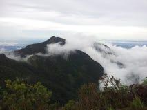 Montaña en el nuwaraeliya imagen de archivo libre de regalías