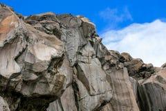 Montaña en el top de la montaña de Ruiz imagen de archivo libre de regalías