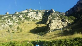 Montaña en España Foto de archivo