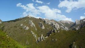 Montaña en Gannan Foto de archivo libre de regalías