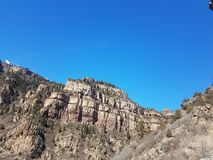 Montaña en Glenwood Springs co fotos de archivo libres de regalías