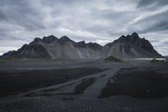 Montaña en Islandia Imágenes de archivo libres de regalías
