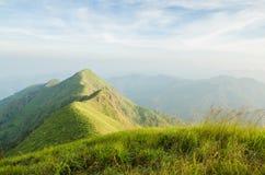 Montaña en Kanchanaburi Fotos de archivo libres de regalías