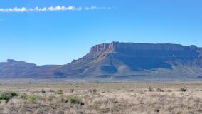 Montaña en la región de Eastern Cape de Suráfrica, cerca a Cradock Imagenes de archivo