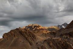 Montaña en ladakh Fotos de archivo libres de regalías