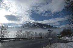 Montaña en las montañas Foto de archivo libre de regalías