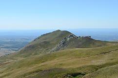 Montaña en las montañas Imagen de archivo