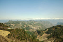 Montaña en Lung Cu Fotos de archivo libres de regalías