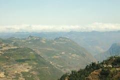 Montaña en Lung Cu Imagen de archivo libre de regalías
