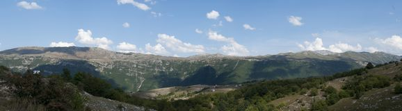 Montaña en Montenegro imagenes de archivo