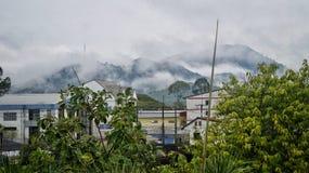 Montaña en phe de la prohibición Fotografía de archivo