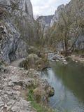 Montaña en Rumania Fotos de archivo