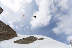 Montaña en Suiza Fotografía de archivo libre de regalías