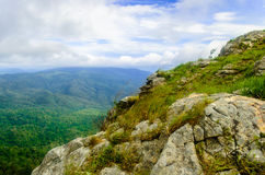 Montaña en Tak Thailand Foto de archivo libre de regalías