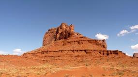 Montaña en valle del monumento Fotos de archivo libres de regalías