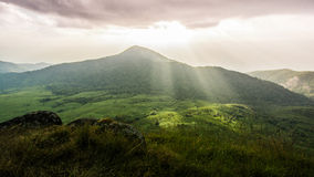 Montaña encantadora de Monchong Fotos de archivo