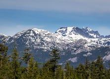 Montaña escénica del verano que camina los paisajes Canadá Fotos de archivo libres de regalías