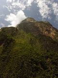 Montaña escarpada en el barranco de Sumidero del mexicano Imagen de archivo libre de regalías