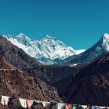 Montaña Everest Fotos de archivo libres de regalías