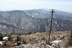 Montaña Falasa, Primorye, Rusia fotos de archivo libres de regalías