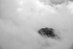 Montaña flotante Imágenes de archivo libres de regalías