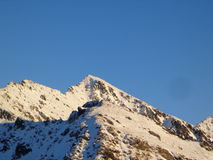 Montaña fría Imagen de archivo libre de regalías
