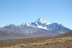 Montaña fría del desierto Imagenes de archivo