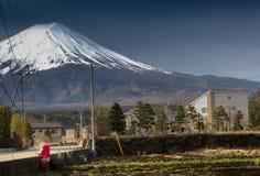 Montaña Fuji en Japón fotografía de archivo